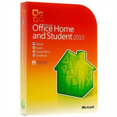Cần bán gấp bộ office home and student 2010