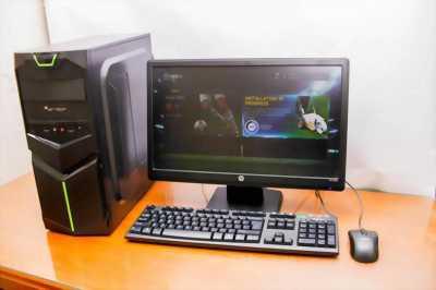 Trọn bộ Máy tính chơi game, màn hình Led 17in