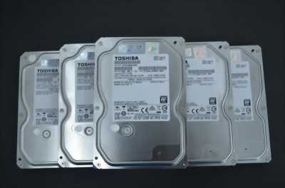 Thanh lý 6 ổ cứng Toshiba 1TB còn BH Chính hãng 2 năm