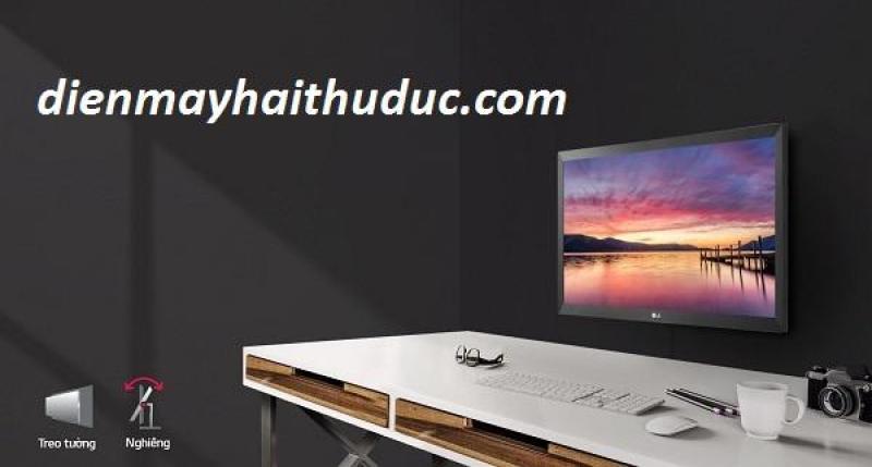 Màn hình LG 20MK400H-B hỗ trợ HDMI, Vga, Audio out
