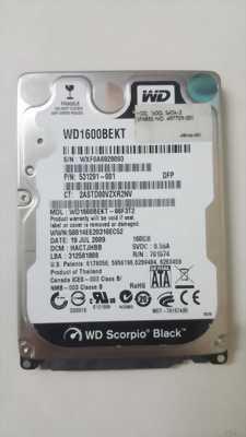 Ổ cứng laptop 80, 120, 160G