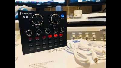 Thanh lý soundcard 730 max pro