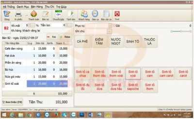 Phần mềm bán hàng