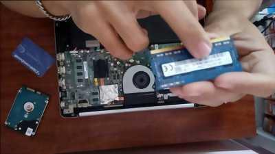 Ổ cứng và ram cho laptop