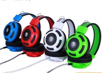 Headphone HY-F05 Đỏ Game Net Trâu Bền