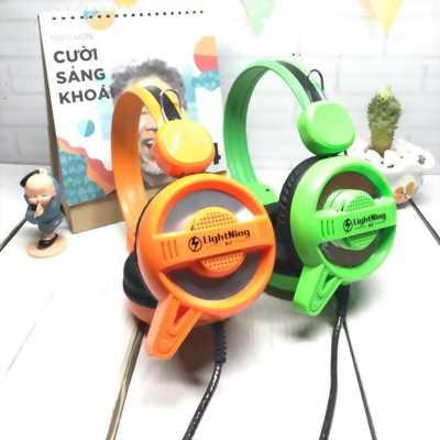 HeadphoneLighning A2 led game có microchính hãng