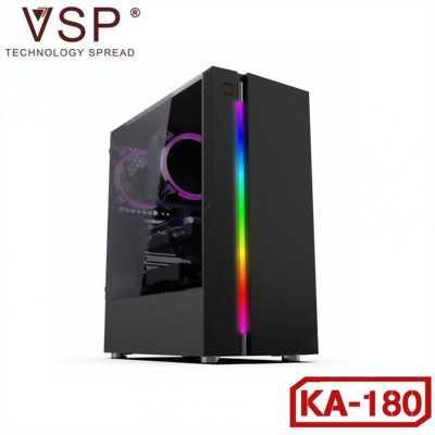 Vỏ thùng case Vision VSP KA-180 nắp hông trong suốt chính hãng