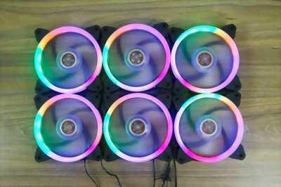 Fan case led 1stPlayer R1 trang trí vỏ thùng case máy tính chính hãng