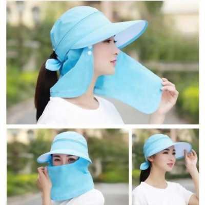 Mũ chống nắng đảm bảo y hình siêu xinh