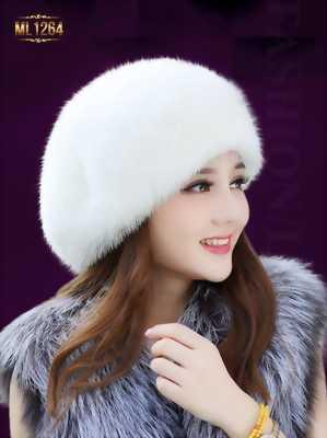 Mũ lông ấm cho đông lạnh giá