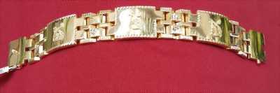 Lắc tay nam hảng nhật mạ vàng 18k