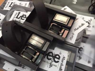 Thắt lưng Lee da mềm 2 mặt đẹp, full box
