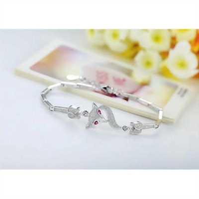Lắc tay hồ ly hồng