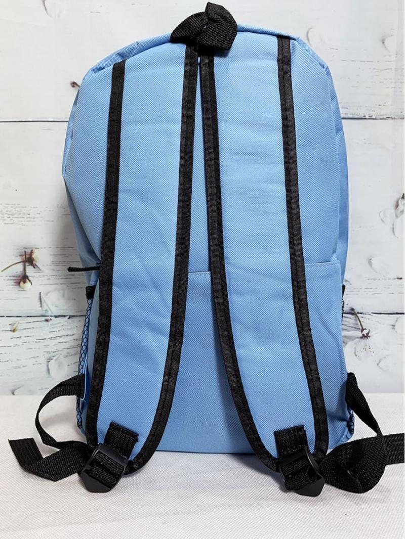 Balo thời trang trơn màu xanh trời BALO0018