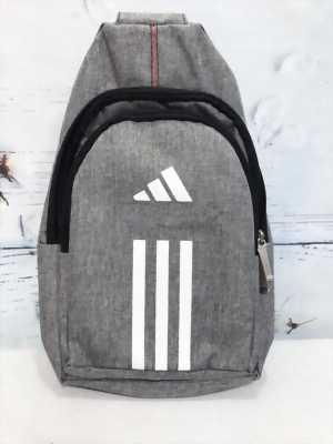 Túi đeo chéo nam thể thao xám ghi TDC0020