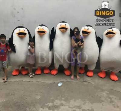 Mascot chim cánh cụt,mascot chim cánh cụt madagascar