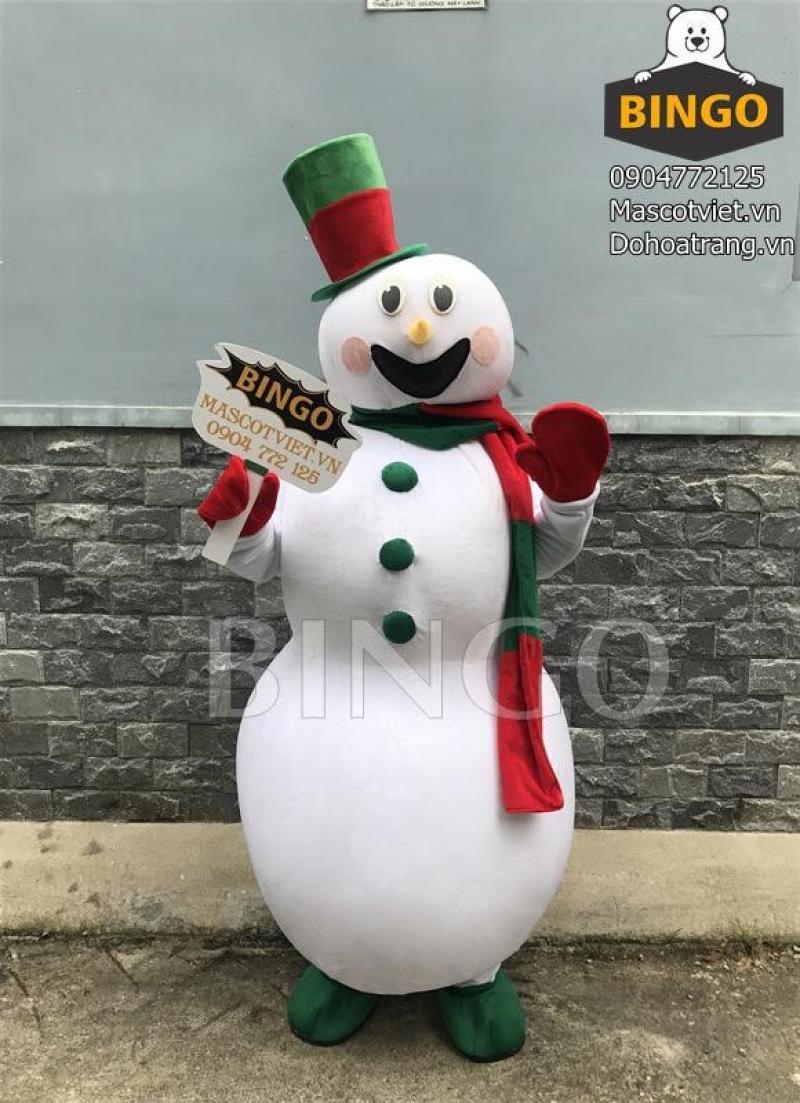 Bán Mascot hơi ông giá noel,mascot người tuyết,trang phục noel