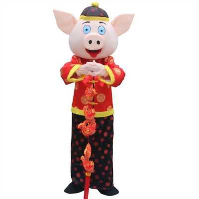 Bán mascot Phúc Lộc Thọ giá rẻ,cho thuê mascot thần tài