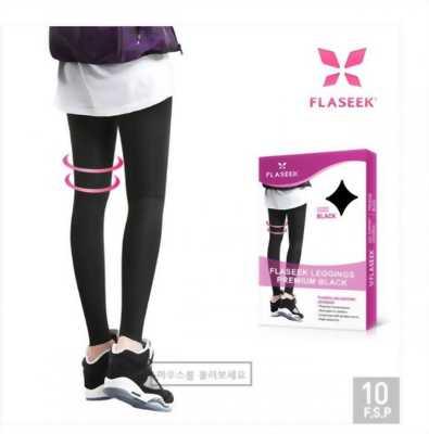 Quần Legging đàn hồi cao cấp Flaseek Premium BLACK HQ
