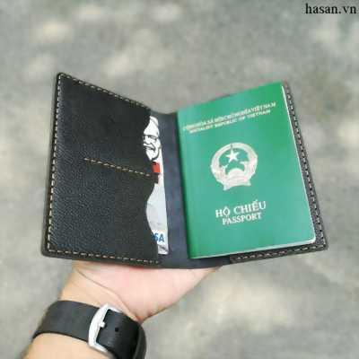 Ví passport handmade da thật cao cấp