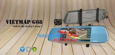 Camera hành trình dẫn đường tích hợp 5 in 1 Vietmap G68