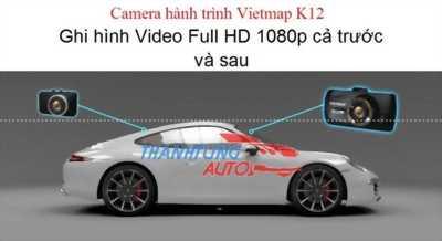 Camera hành trình 2 camera trước và sau Full HD Vietmap K12