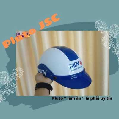 Xưởng sản xuất nón bảo hiểm quảng cáo uy tín