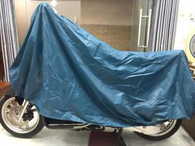 Tấm bạt dù che trùm xe máy loại bền tốt GD0032