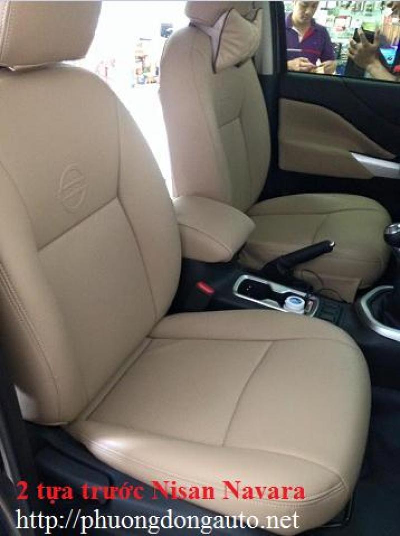 Bọc ghế da thật CN Thái lan Nissan Navara | Bọc ghế da Nissan Navara