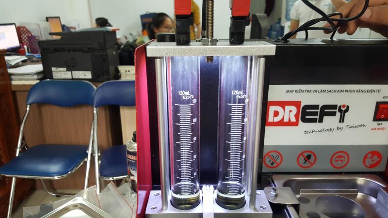Đặc trưng đặc biệt của máy súc rửa kim phun xe máy DREFI