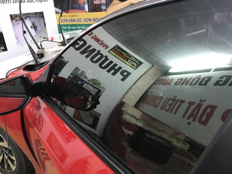Dịch vụ dán phim cách nhiệt dòng xe Mitsubishi tốt nhất Hà Nội