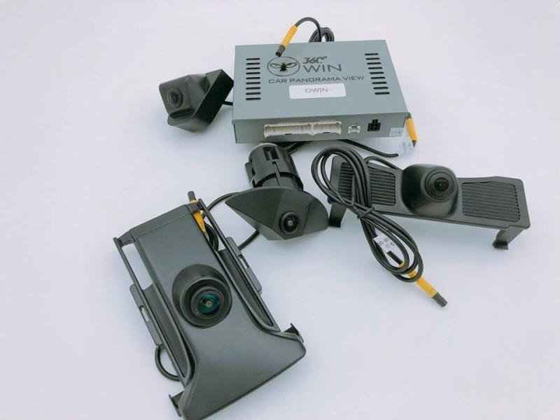 Lắp Camera 360 Oview HONDA CIVIC 2010, Camera 360 Chính Hãng
