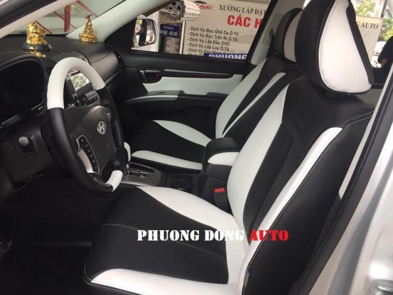 Bọc ghế da Thật công nghiệp Toyota Hilux 2014