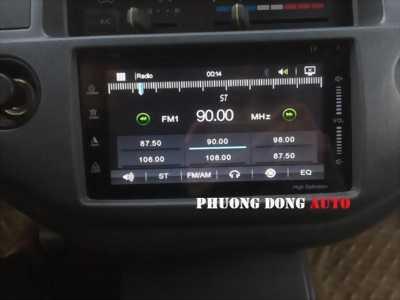 DVD V88 cho xe Toyota Zace   DVD V88 đẳng cấp