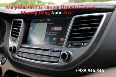 DVD Android theo xe Hyundai Tucson | KM thẻ Vietmap S1 + Camera hồng ngoại led