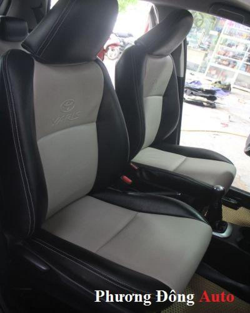 Bọc ghế da thật công nghiệp Toyota Yaris 2015