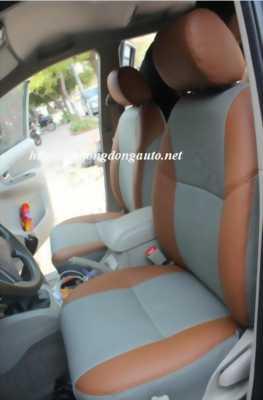 Bọc ghế da Toyota Vios 2016 da thật CN Singgapor (Đặc biệt) + Sàn da dày + bảo dưỡng nt