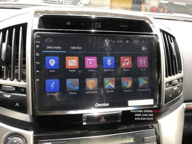 DVD Android theo xe LAND CRUISER 2018 | DVD Ownice C500+