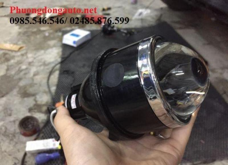 Độ đèn bi pha Xenon siêu sáng Q5 cho HONDA CIVIC