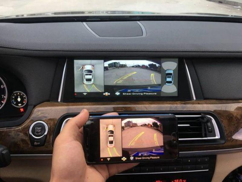 Camera 360 DCT cho xe Pajero Sport | Bản T1