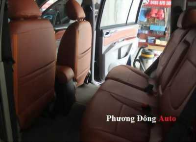 Bọc ghế da ô tô tốt nhất | Bọc ghế da CN loại 1 Singapore cho PAJERO SPORT 2014