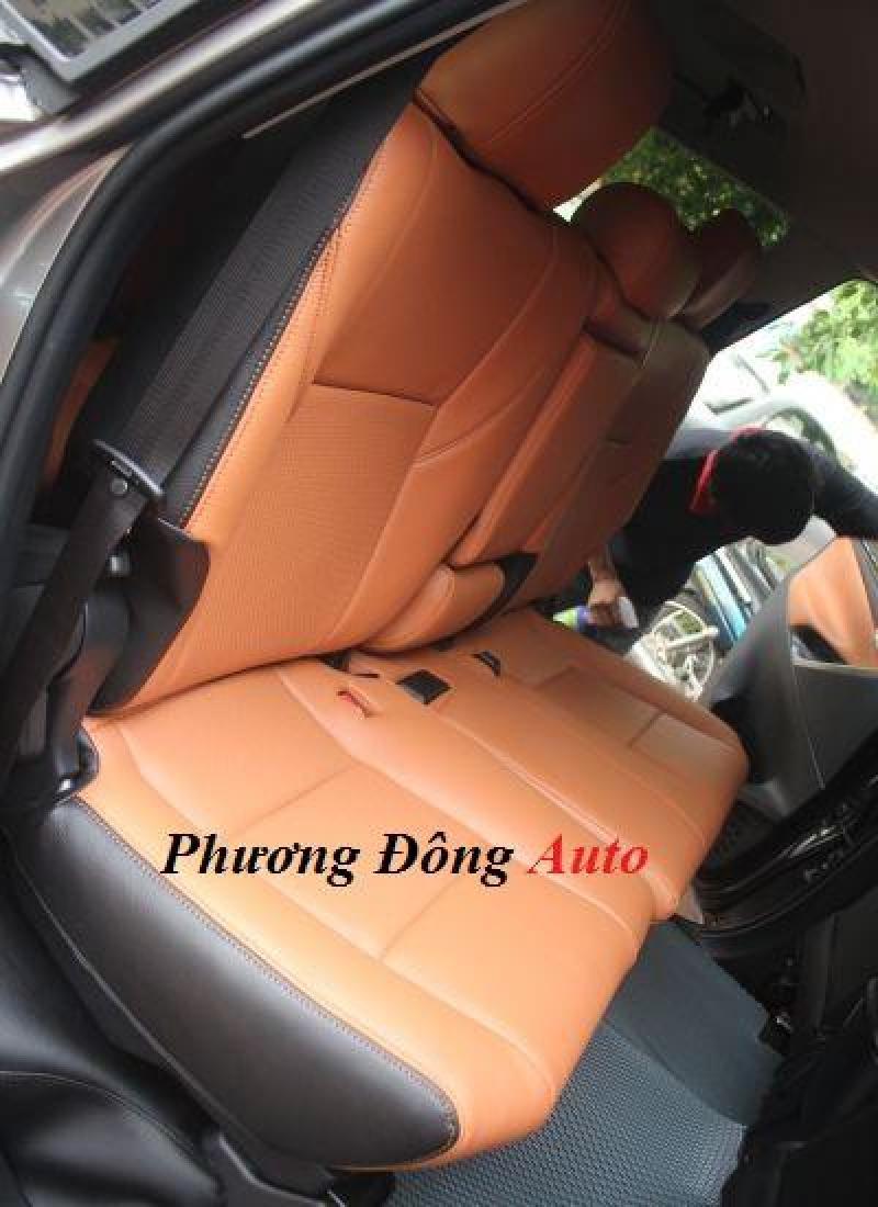 Bọc ghế da thật Singapore cho xe Toyota ZACE   Bọc ghế da cực xịn cho xe Zace