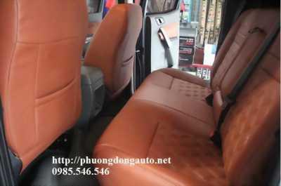 Bọc ghế da CN loại 1 Singapor cho Toyota Fortuner