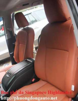 Bọc ghế da Singapore Toyota Land Prado | Bọc ghế da Land Prado