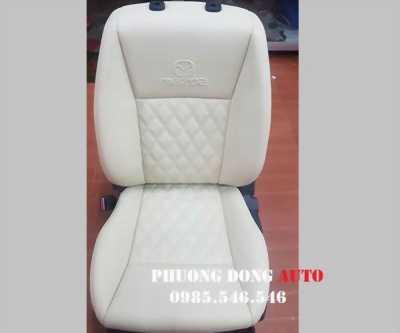 Bọc ghế da CN loại 1 Singapore cho xe Toyota Fortuner