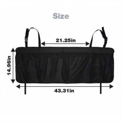 Túi đựng đồ treo sau ghế cỡ lớn xe ôtô RV/SUV
