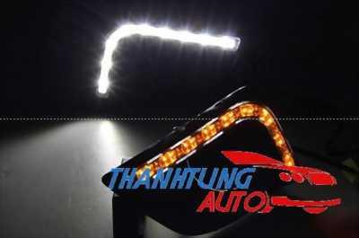 Ốp đèn gầm Led cho xe Vios 2014 có xi nhan