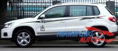 Tem độ dán cho xe Volkswagen Tiguan vẻ đẹp hoàn mỹ