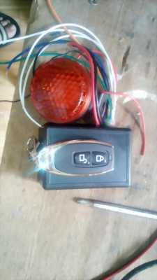 Chống trộm xe máy, remote chống nước TS-18