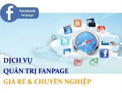 Dịch vụ quản lý Fanpage, tăng doanh thu bằng Facebook